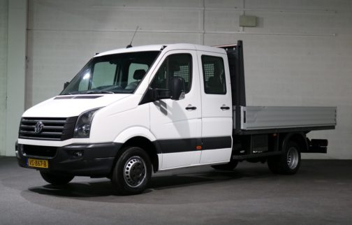 Volkswagen Crafter 2.0 TDI 136pk DC Pick Up Open Laadbak